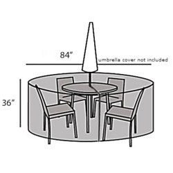 Protective Cover - Table Set Small Round