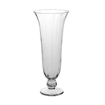 Pedestal Glass Vase
