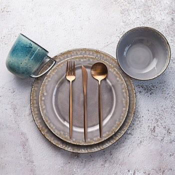 Iris 16-Piece Dinnerware Set