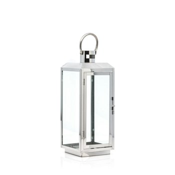 Medium Stainless Steel Lantern