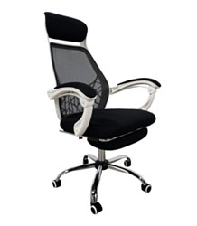 Office Armchair with Footrest