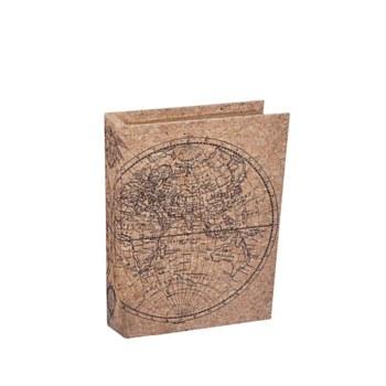 Small Cork Book Box
