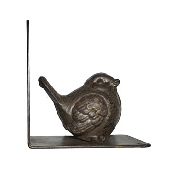 Right Metal Bird Bookend