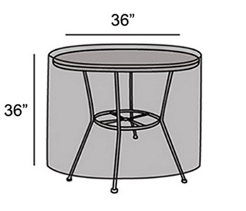 "Protective Cover - 36"" Round Table"