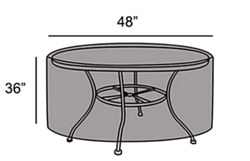 """Protective Cover- 48"""" Table"""