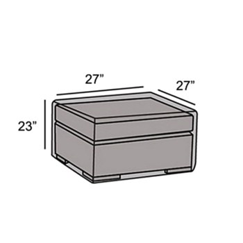 Protective Cover - Side Table or Ottoman