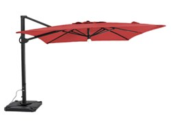 10' Square Parasol with lights