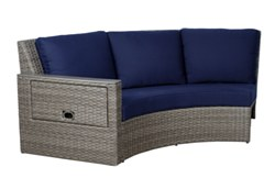 Rideau LHF Round Sofa