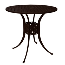 "Weave 42"" Round Bar Table"