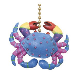 Fan Pull Crazy Crab