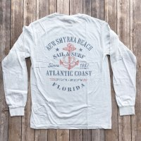 Men's L/S Sail Surf Wht SM