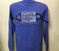 Men's T L/S Anchor Blue Sm