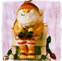 Ornament Santa Lifeguard