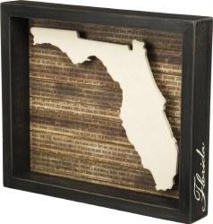 Box Sign Florida BLK