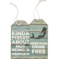 Bottle Tag Mermaids Drink
