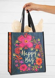 Happy Bag Turq/Magenta/Cream