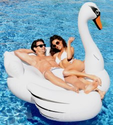 Pool Float Giant Swan
