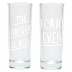 I Cant Even Shot Glass Set