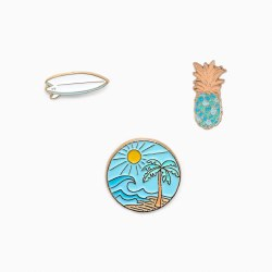 Pin Set 3 Pack Surf Check