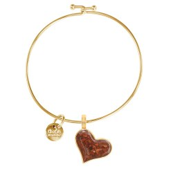 Bangle Beach Heart NSB GOLD