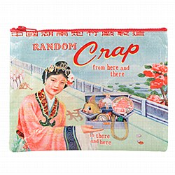 Zipper Pouch Random Crap