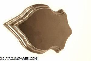 Oak Trophy Plate 22x13