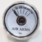 Air Arms Pressure Gauge