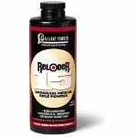 Alliant Reloader 15 powder