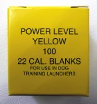 .22 Yellow Launcher Blanks