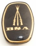 BSA Centenary Stock Grip Badge