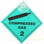 Compressed Gas Label (Sucker)