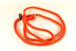 Deluxe Rope Slip Lead Red