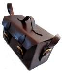 Leather Cartridge Box Chestnut