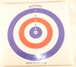 Marksman 25 Card Targets.