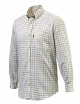 Verne Shirt Yellow Check Med