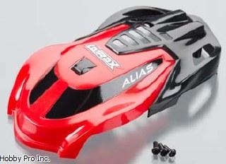 Traxxas Multi Rotor 6611 Canopy Red//Screws Alias