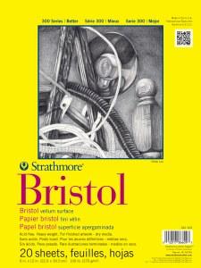 Strathmore Bristol Vellum Pad 14x17