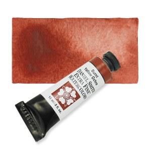 Daniel Smith Extra Fine Watercolor 15ml Burnt Yellow Ochre