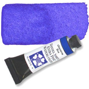 Daniel Smith Extra Fine Watercolor 15ml Ultramarine Blue