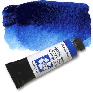 Daniel Smith Extra Fine Watercolor 15ml Phthalo Blue (GS)