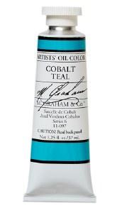 M. Graham Oil Cobalt Teal  37ml
