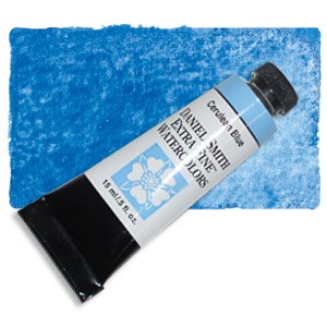 Daniel Smith Extra Fine Watercolor 15ml Cerulean Blue