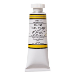 M. Graham Watercolor Hansa Yellow Deep 5oz