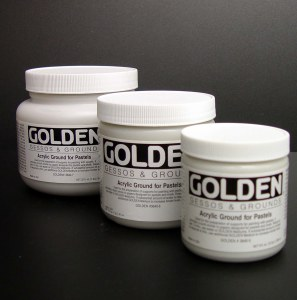 Golden Acrylic Ground for Pastels 8oz 3640-5