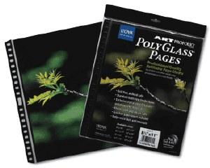 Itoya PolyGlass Pages 10pk 17x11 Landscape HPR-17-11