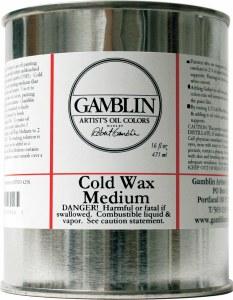 Gamblin Cold Wax Medium 16oz
