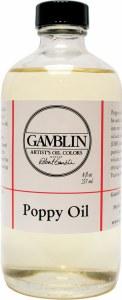 Gamblin Poppy Oil 8oz