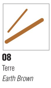 Pebeo Porcelaine 150 Marker Earth Brown
