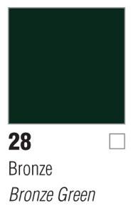 Pebeo Porcelaine 150 45ml - Bronze Green-28