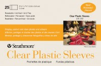 Strathmore Clear Plastic Sleeves 25 pack